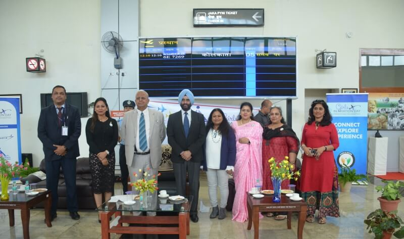 Girls In Aviation Day Celebrated At Shillong Airport