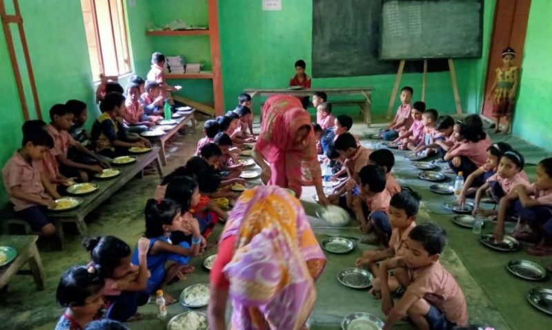 Hailakandi Tops In Midday Meal Scheme Implementation