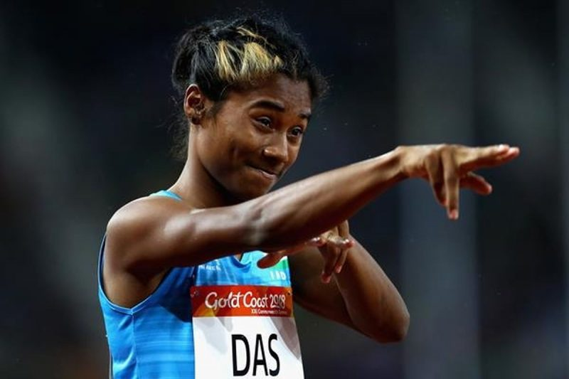 Hima Das reveals meeting with Sachin and the time she scribbled Adidas on her shoes