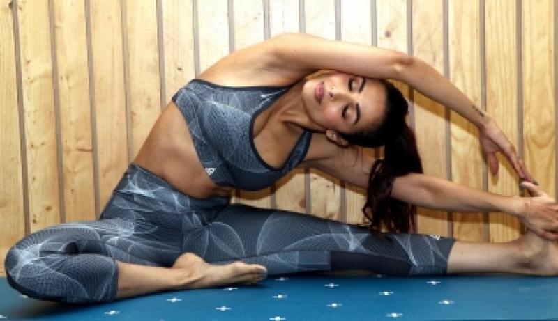 Malaika Arora Performs Yoga