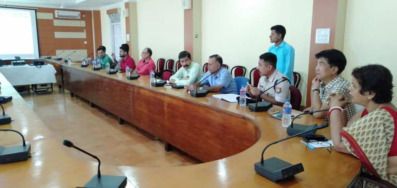 Hailakandi Meet to constitute Childline Advisory Board at DC's conference hall