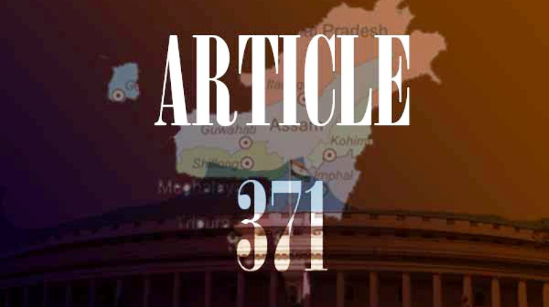 Call For Inclusion of Meghalaya in Article 371 J of Constitution of India