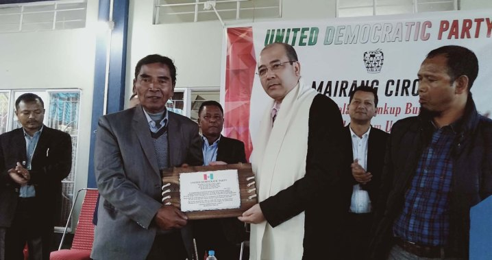 United Democratic Party (UDP) Pins High Hopes on Metbah Lyngdoh