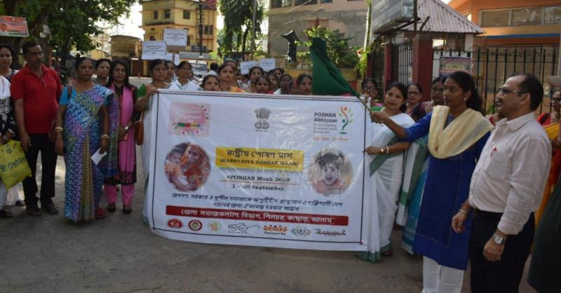 Mission To Abolish Malnutrition In Cachar