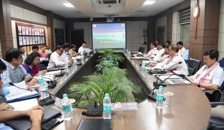 NF Railway General Manager Holds Meeting with MPs to Answer Queries in Tinsukia