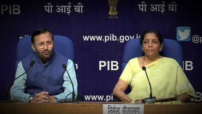 Finance MinisterNirmala Sitharaman Announces Ban On E-Cigarettes After Cabinet Meet