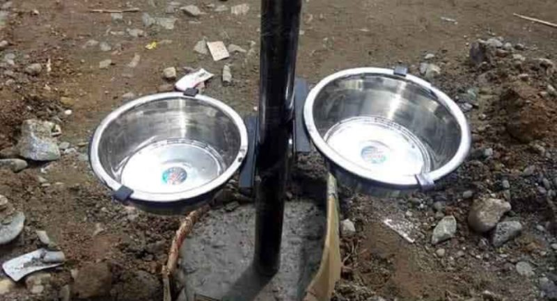 Stray Dog Vaccination on, Youth Installs Bowls on Roads