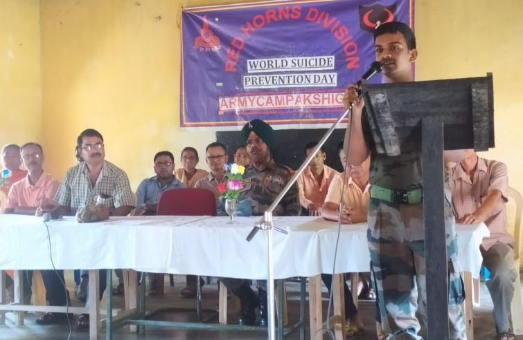 Red Horns Division Conducted Lecture on World Suicide Prevention Day in Kokrajhar