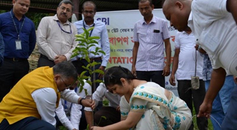 State Bank of India (SBI) Adopts Nasatra Village of Barpeta District