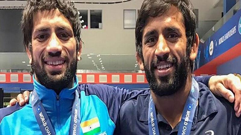 Bajrang Punia,Ravi Dahiya Won Bronze at World Wrestling Championships