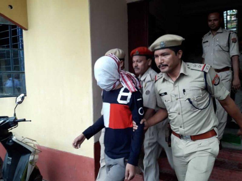 Hardcore ULFA (I) cadre apprehended by Jalukbari Police at Kamakhya Railway Station