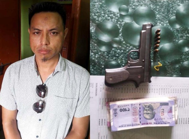 Suspected PDCK Cadre Arrested In Karbi Anglong, Arms Recovered