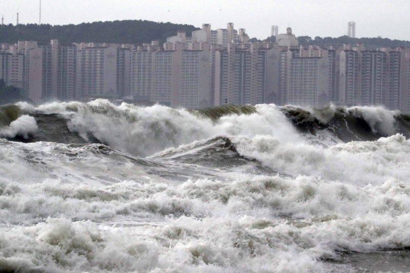Typhoon Lingling's Effect in South Korea This Year