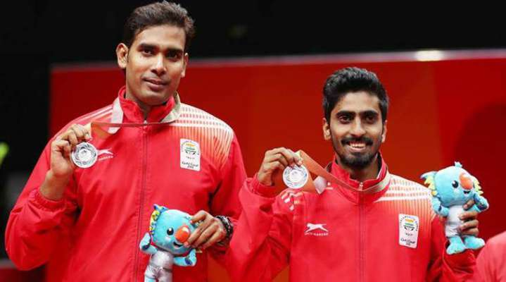 Sharath-Sathiyan Enters Asian Quarters of Asian Table Tennis C