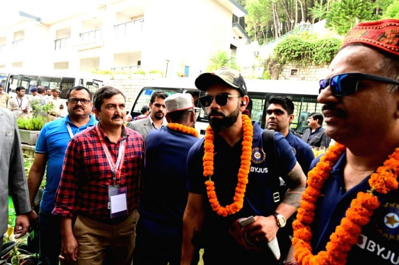 Virat Kohli's Team Reaches Dharamsala for Clash with Proteas