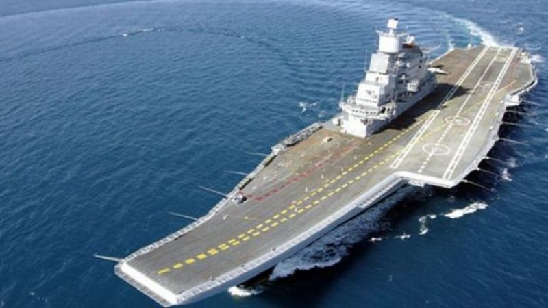 Defence Minister Rajnath Singh to Spend a Day on INS Vikramaditya