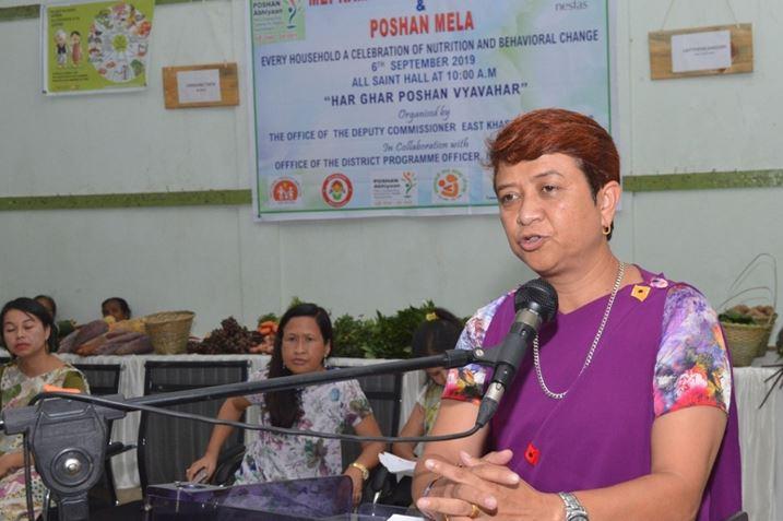 Mei Ram-ew Farmers' Market and Poshan Mela inaugurated in Shillong