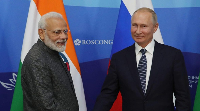 Vladimir Putin By His Side, Narendra Modi Slams 'Outside Influence' In Internal Matters