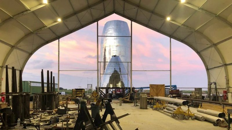 Tesla and SpaceX's New Starship Prototypes Revealed
