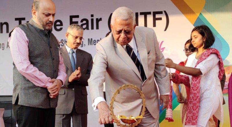 Governor Tathagata Roy Inaugurated East Himalayan Trade Fair in Shillong