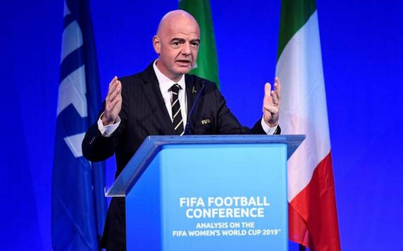 Gianni Infantino Vows to Take Tough Measures Against Racism