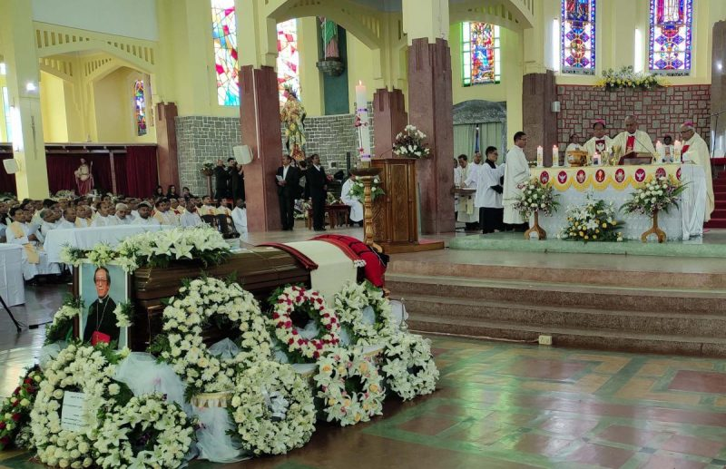 Archbishop Jala laid to rest at Shillong cathedral