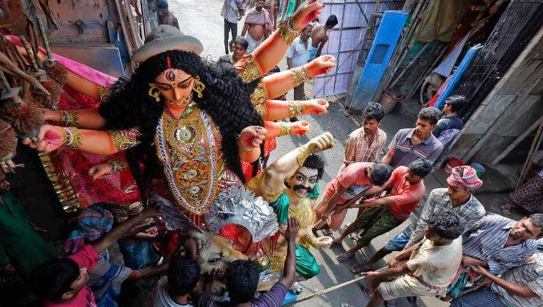 BJP Organizes first-ever Durga Puja Carnival in Tripura