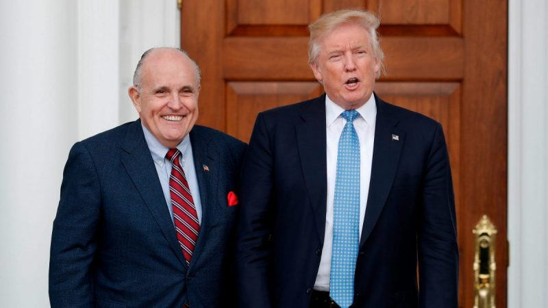 US House Subpoenaed President Trumps Personal Attorney Giuliani