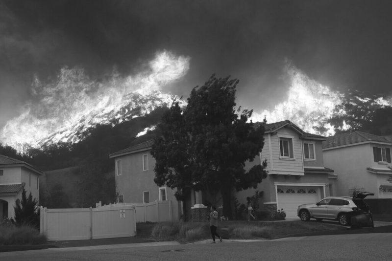 Hollywood Celebrities Evacuate Homes For Raging Wildfires in Region