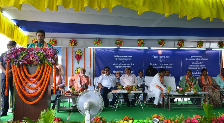 Connectivity with Bangladesh Port to Bring Growth: Biplab Kumar Deb