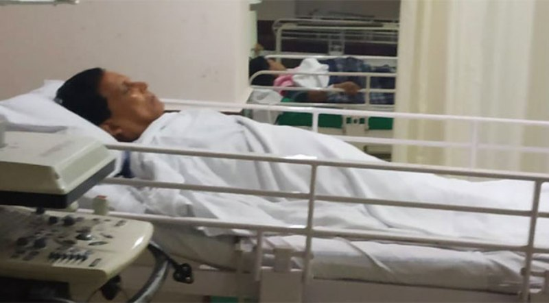 Tripura's ex-Minister Badal Choudhury found in hospital after six days' hunt