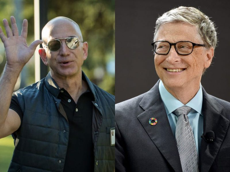 Jeff Bezos Loses World'sRichest Man Title to Bill Gates