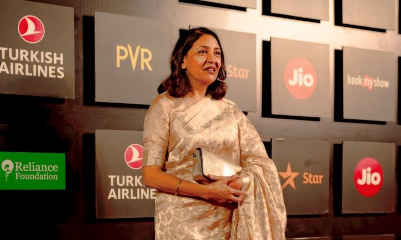 Deepti Naval awarded with Excellence in Cinema Award at 21st Jio MAMI Mumbai Film Festival
