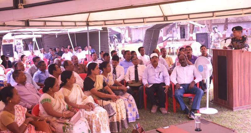 Army OrganizedEx-servicemen Rally in Jagiroad