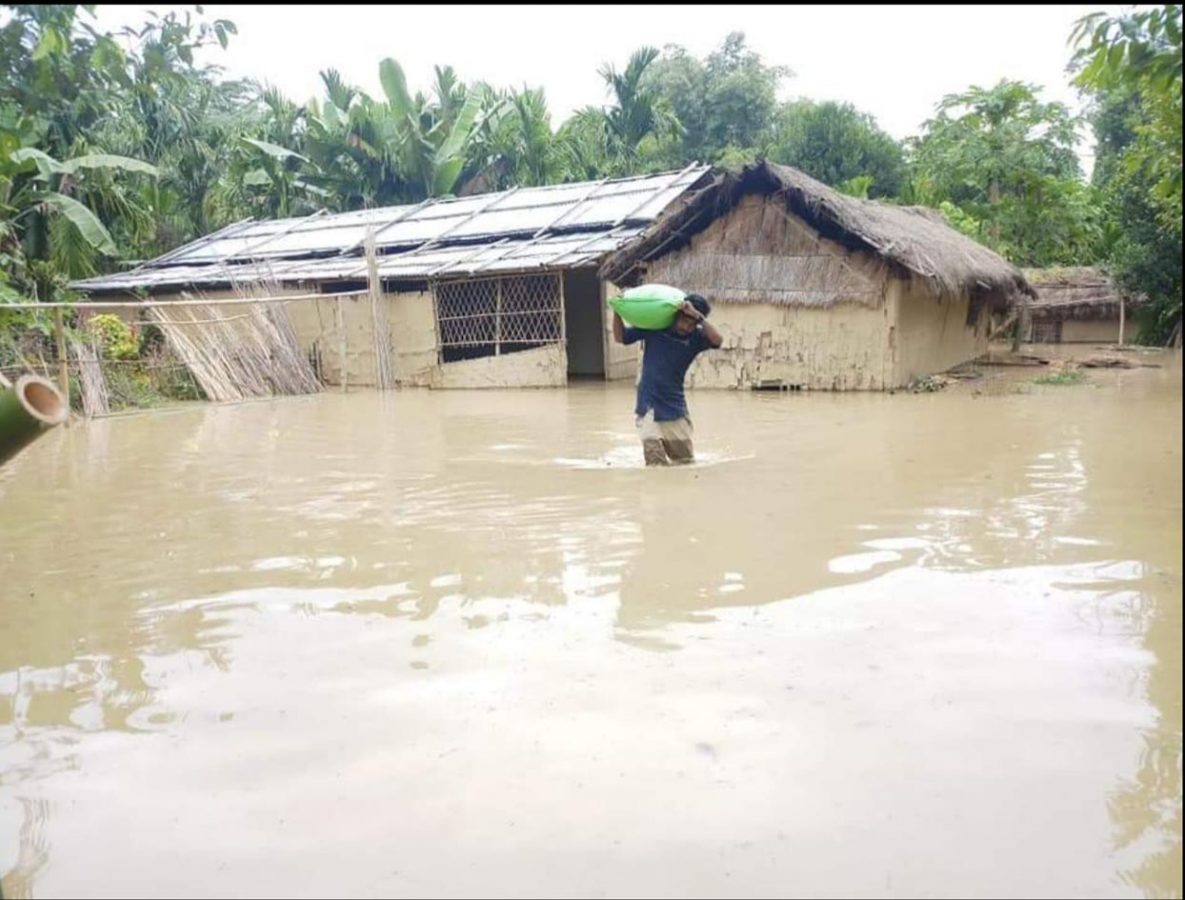 Flood situation improves in most parts of Golaghat district