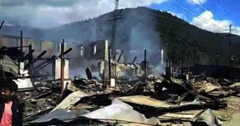 MLA Kanggong Taku takes stock of situation post-Millang fire mishap