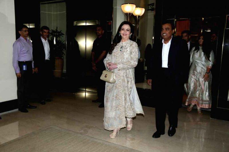 Mukesh Ambani Hosts Star-Studded Diwali Bash in Mumbai