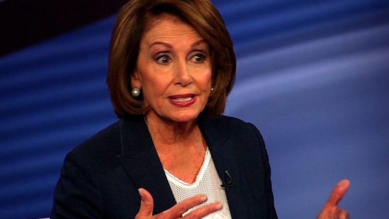 Nancy Pelosi Doesn't Back Down, Goes For The Kill
