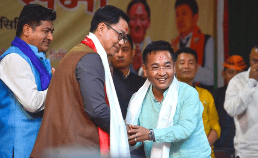 Sikkim Chief Minister P.S. Golay Stresses On Strengthening Bond With Centre