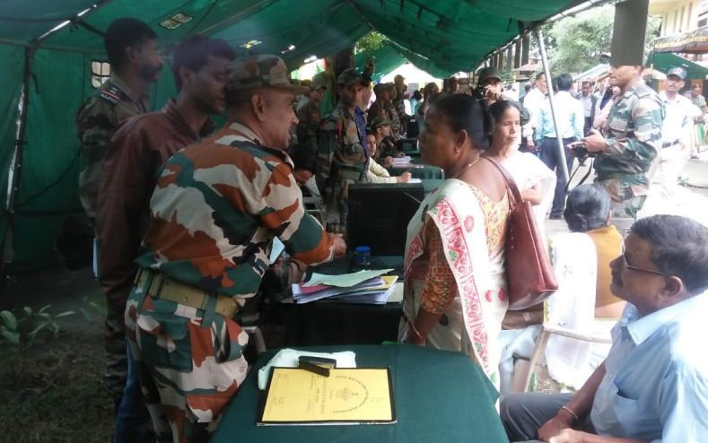 Red Horns Division Army organizes Ex-servicemen Rally at Bongaigaon