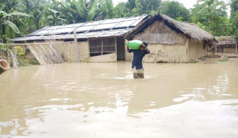 Flood Alert: Dhansiri River Water Submerges 22 Villages