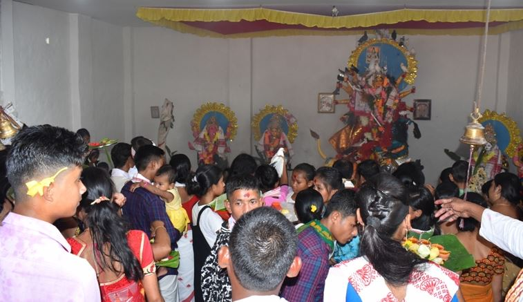 Sacrifice Rituals Mark Ashtami in 476-year-old Temple in Udalguri District