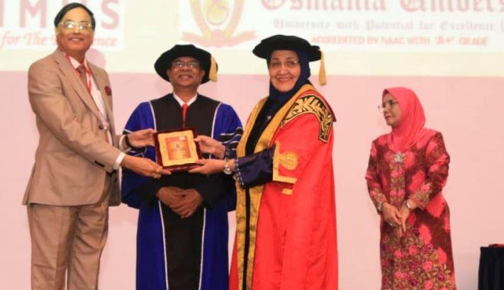Dr. Sanat Kumar Saha Receives Award for Inspirational Research Work