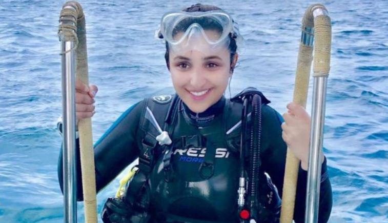 Scuba diving is detox session for me: Parineeti Chopra