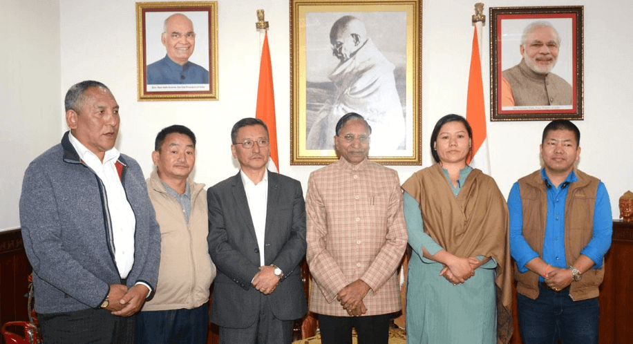 SDF Submits Memorandum To Governor Seeking Intervention In Sikkim Bypoll Violence