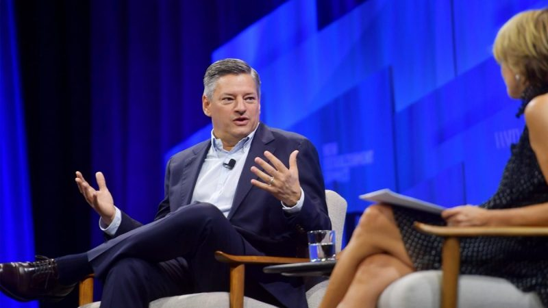 Netflix Chief Ted Sarandos:We Helped Friends,The Office is Still Popular