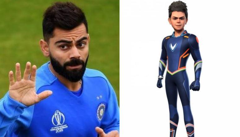 Virat Kohli to have his own Super Hero Avatar animated TV series