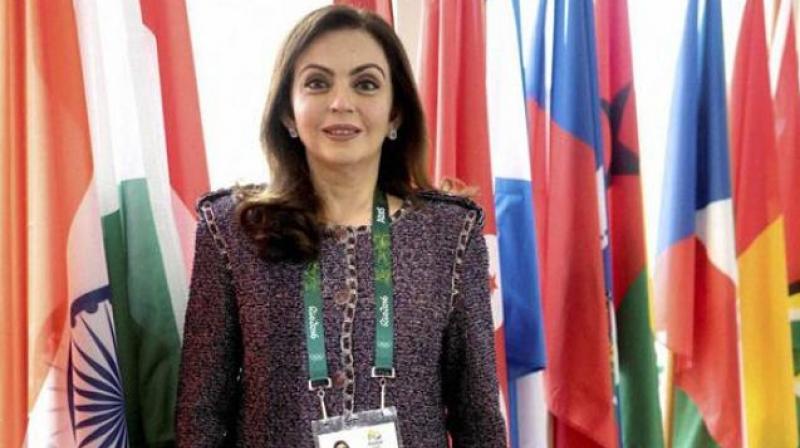 Nita Ambani Dreams to See India Host Olympics Someday