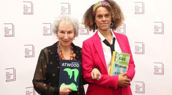 Margaret Atwood, Bernardine Evaristo win Booker Prize in London