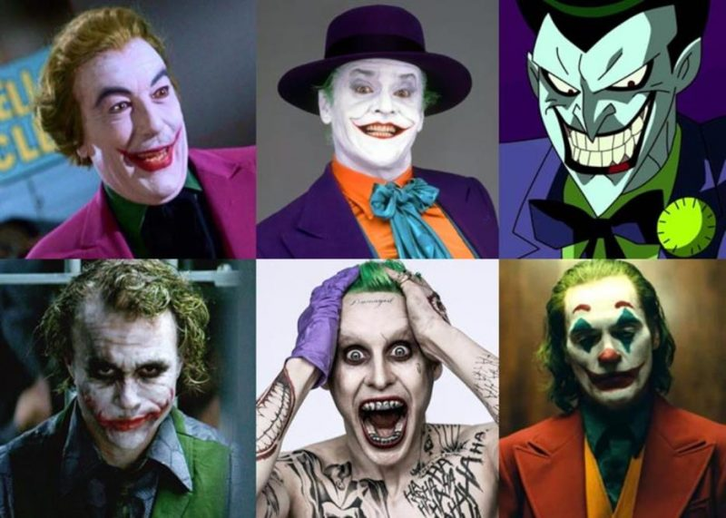 Comic Book to Video Games , Many Jokers in Hollywood Pack
